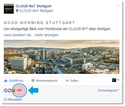 Blogbeitrag - Cloud Beispiel inklusive Klick