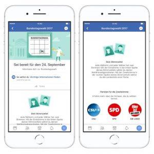 Facebook Bundestagswahl 2017