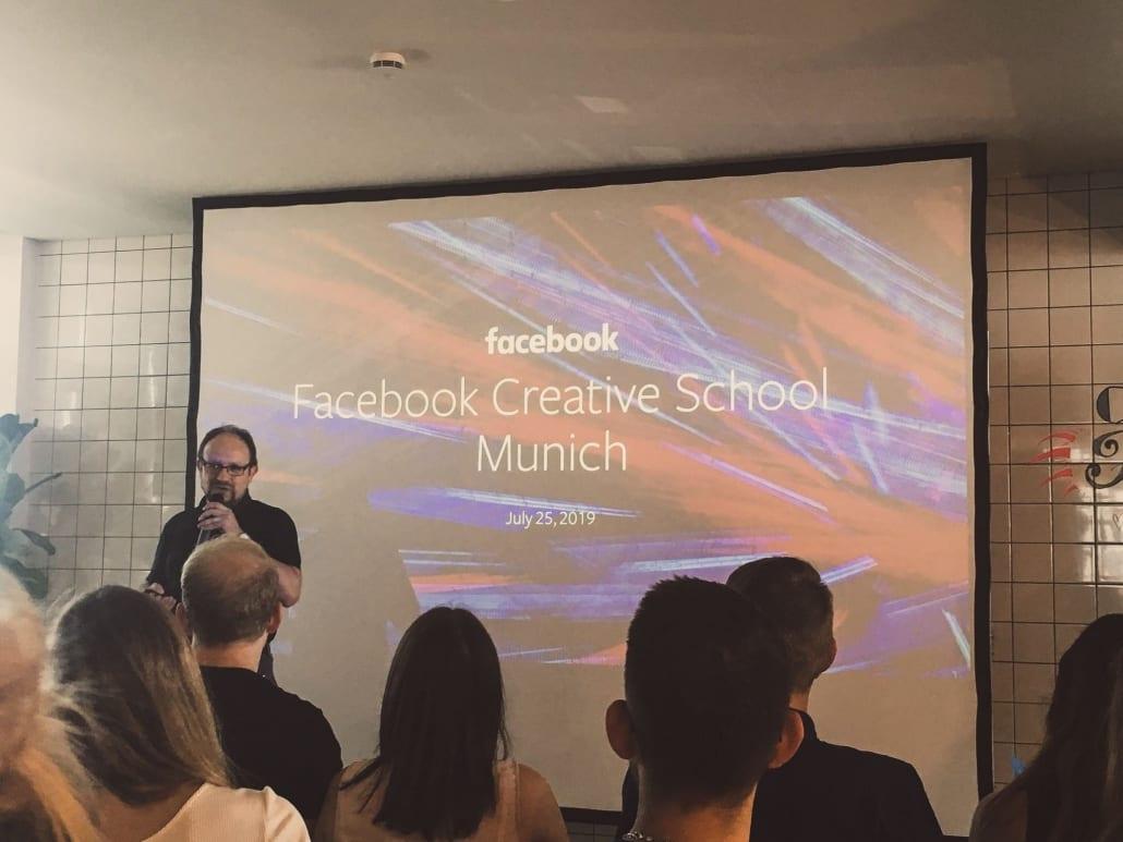 Facebook Creative School München 01