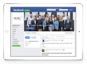 Facebook Fanpage UPON GmbH