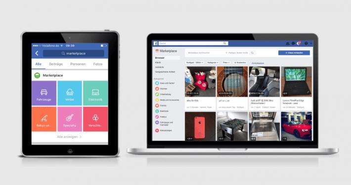 Facebook Marketplace - Facebooks offizielles Verkaufsportal