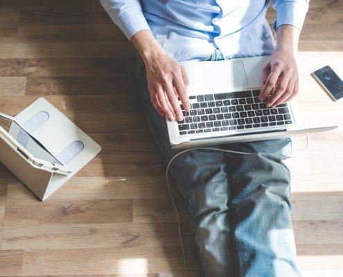 Onlinemarketing Laptop