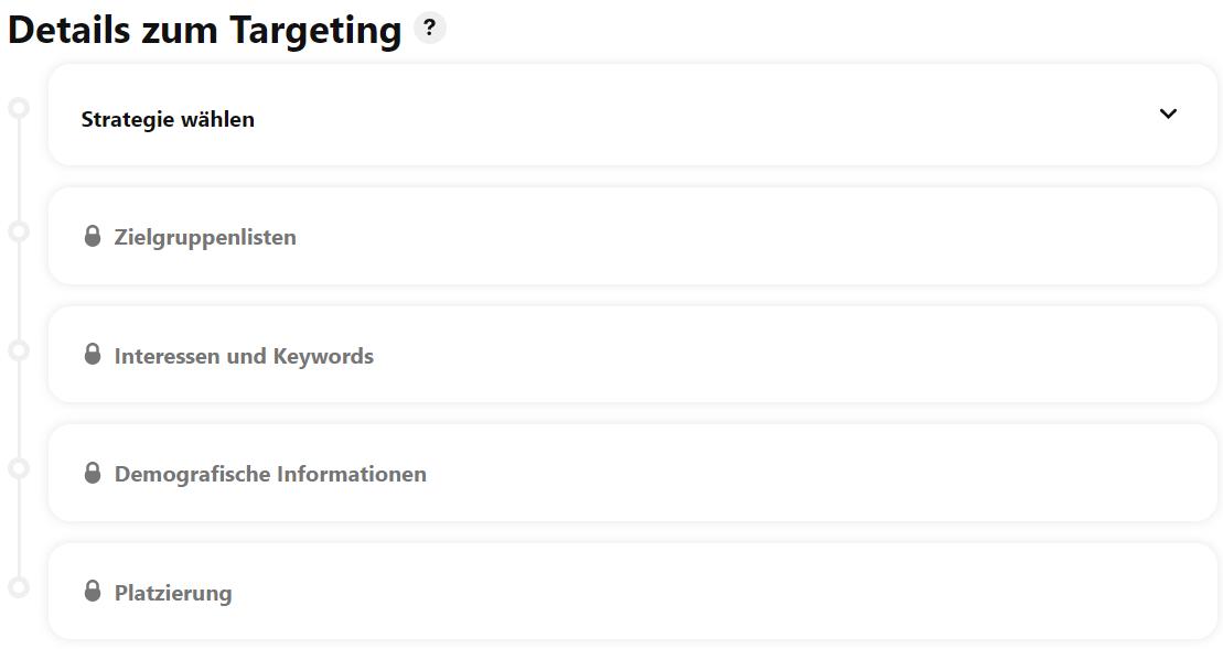 Pinterest Marketing Targeting