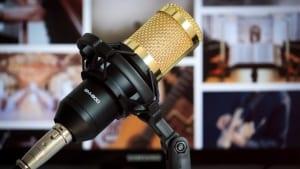 Podcast Marketing Microfon