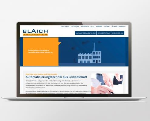 Portfolio Blaich Automation