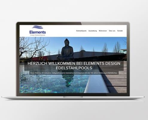Portfolio Elements Edelstahlpools