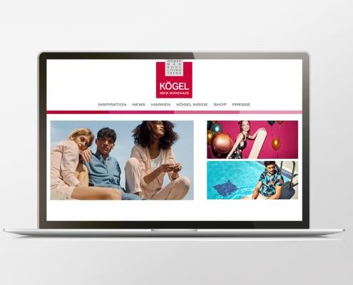 Portfolio Modehaus Koegel