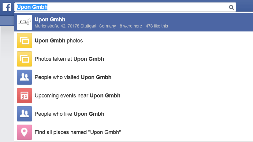 Social Graph Search_Fanpage Search