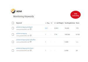 XOVI-Webcontrolling
